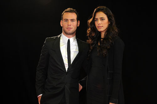Mark Cavendish and Fiorella Migliore, BBC Sports Personality of the Year awards 2009