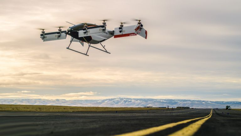 Alpha One self-flying taxi drone