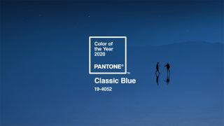 Pantone Classic Blue sample pack