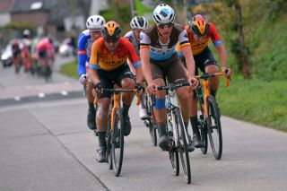AG2R La Mondiale's Oliver Naesen rode to second place on the final stage of the 2020 BinckBank Tour