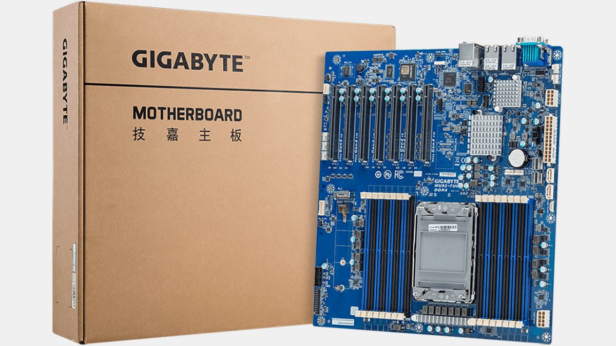 Gigabyte Outs MU92 Server Motherboards for Xeon W-3300