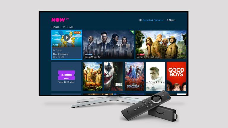 Amazon Prime Video Now TV Sky
