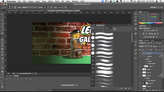 Photoshop tutorials: web design