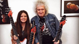 Brian May and Arielle