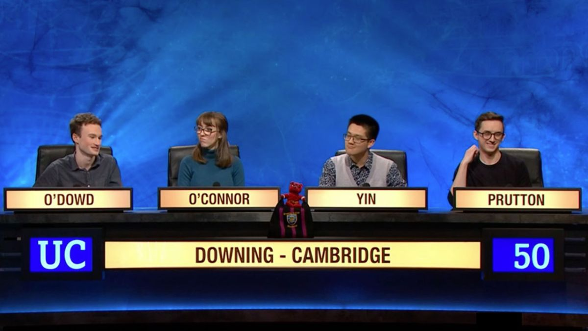 There were three questions about Iron Maiden on University Challenge last night
