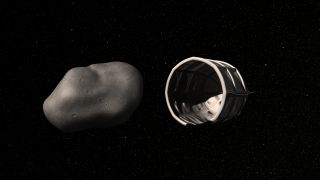 The company Planetary Resources, Inc. plans to capture small, water-rich near-Earth asteroids.
