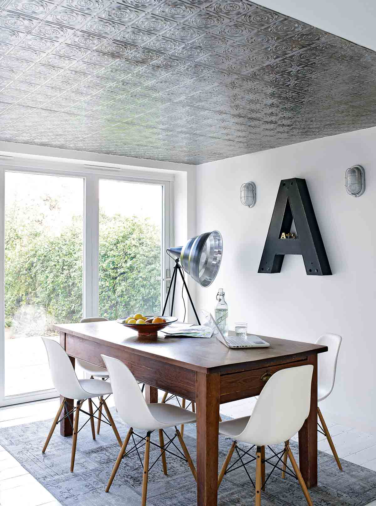 Style Classic Tin Tile Ceiling Livingetc