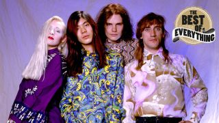 a press shot of smashing pumpkins