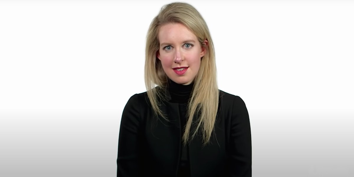 Elizabeth Holmes in The Inventor: Out for Blood in Silicon Valley