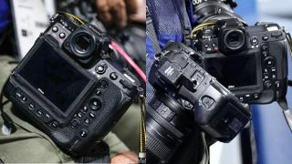 The Nikon Z9 has been spotted at the Tokyo Olympics, giving us our first look at the back of the camera