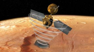 Mars Reconnaissance Orbiter art