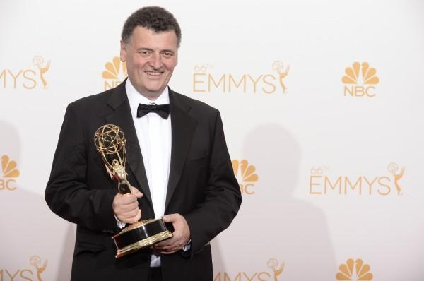 Steven Moffat at the 2014 Primetime Emmys