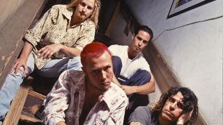 a press shot of stone temple pilots
