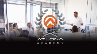 Atlona has updated and expanded the quality, relevance, and value of the accredited online courses offered through the Atlona Education Portal.