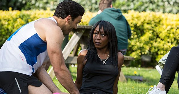 Denise Fox and Kush Kazemi