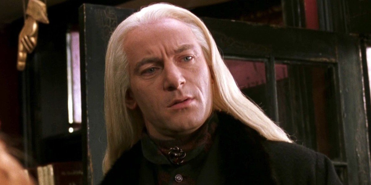 Jason Isaacs as Lucius Malfoy in Harry Potter and the Chamber of Secrets (2002)