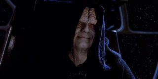 Emperor Palpatine in Return of the Jedi