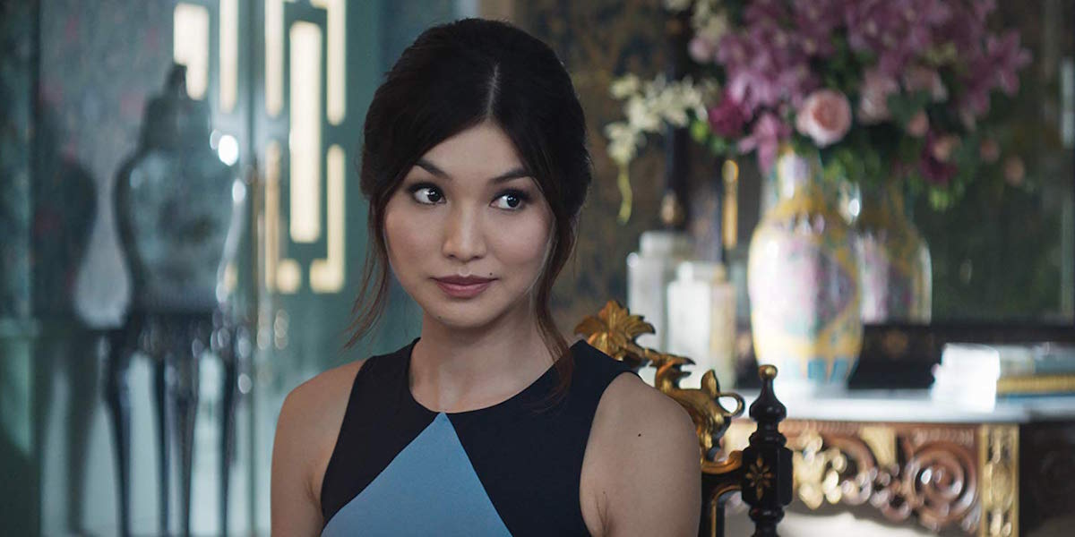 Gemma Chan in Crazy Rich Asians