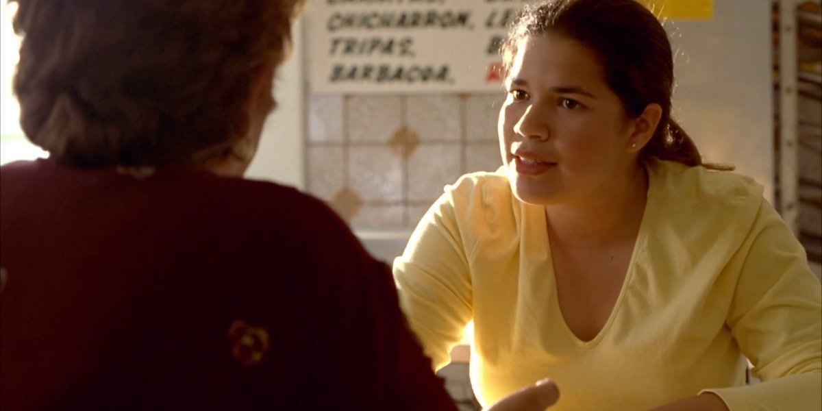 America Ferrera in Real Women Have Curves.
