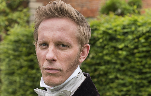 Laurence Fox as Palmerston in Victoria