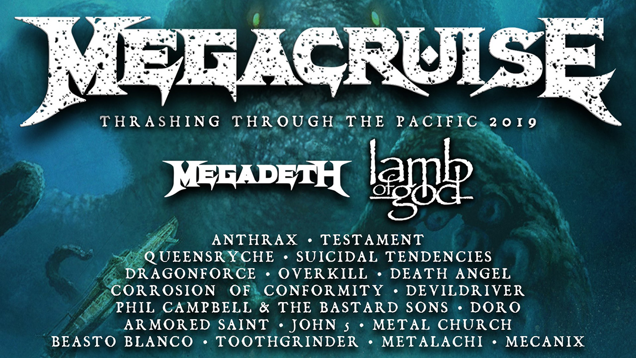 Megadeth bolster Megacruise with the addition of Lamb Of God   Louder