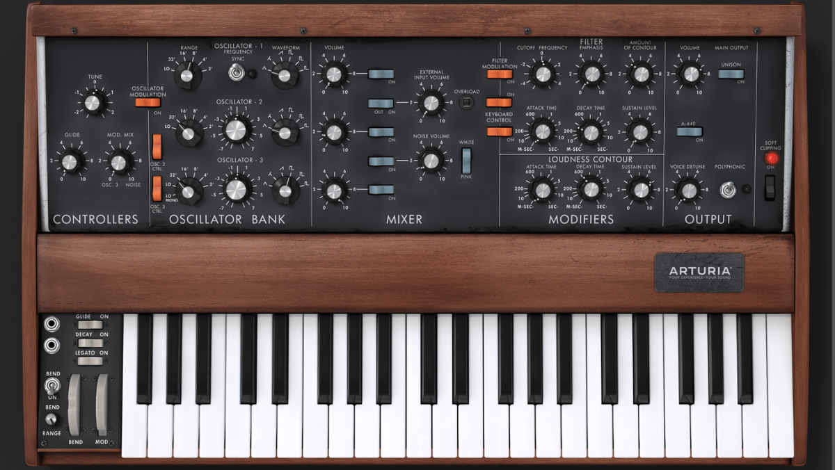 How to recreate the classic Thriller synth bass patch on a virtual Minimoog