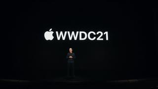 captura de pantalla de la WWDC 2021