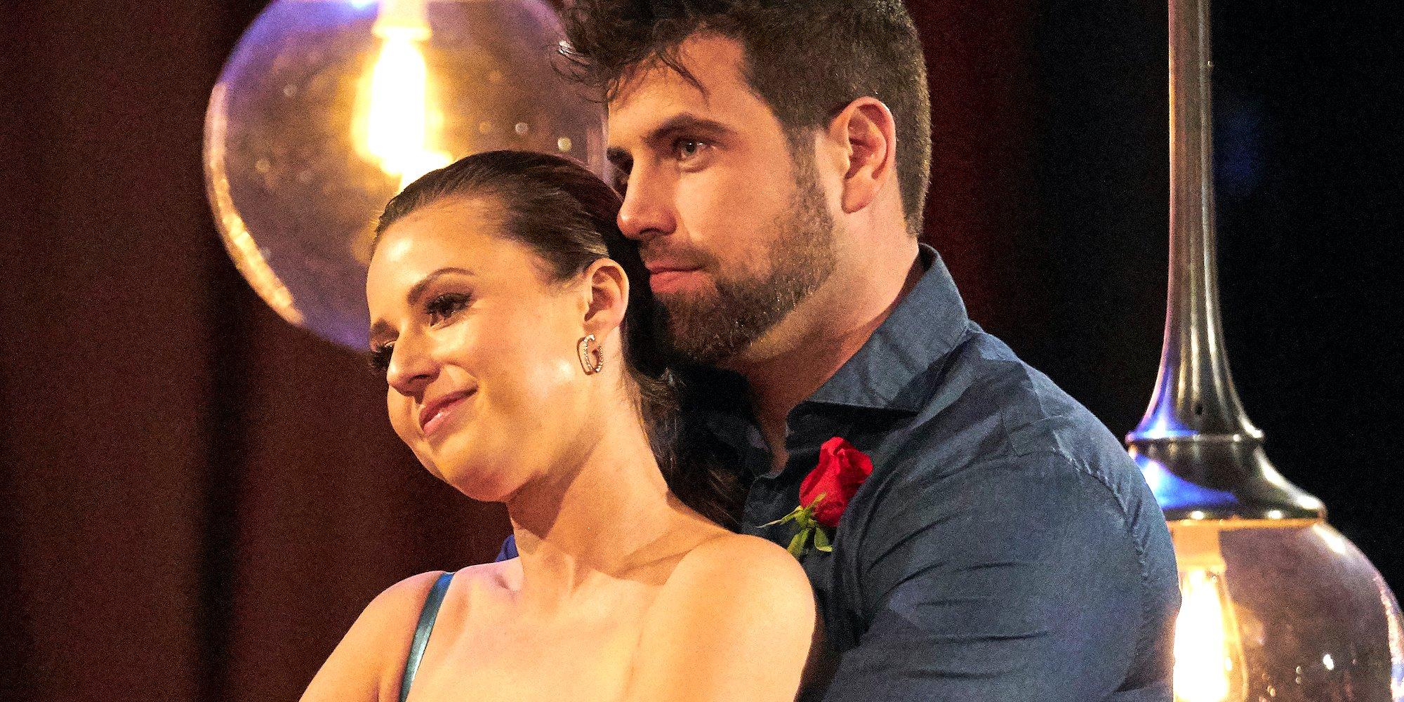 Blake Moynes holds Katie Thurston on The Bachelorette