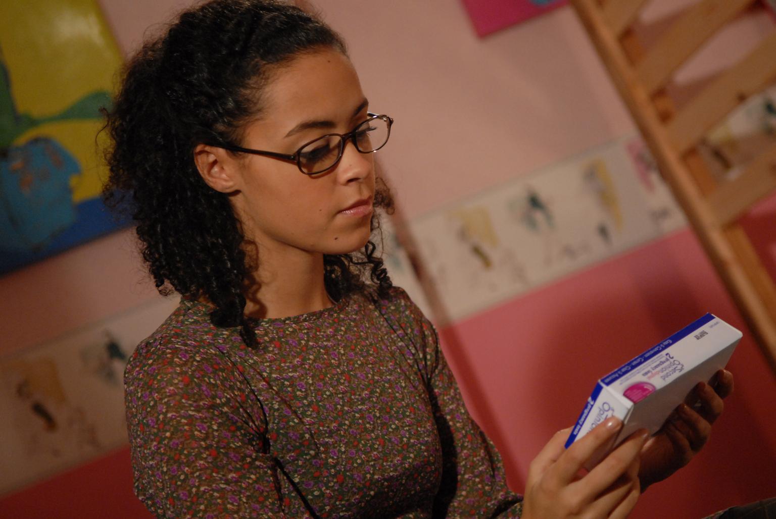 Will Tina take the pregnancy test?