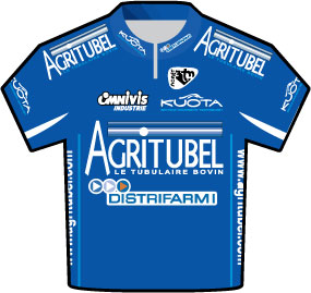 Agritubel Tour de France 2009 team jersey