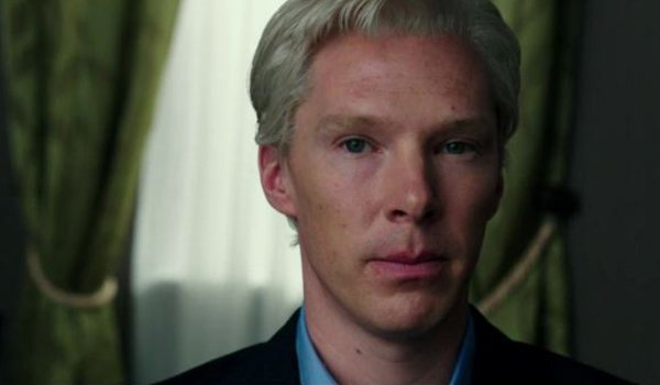 Benedict Cumberbatch as Julian Assange in The Fifth Estate