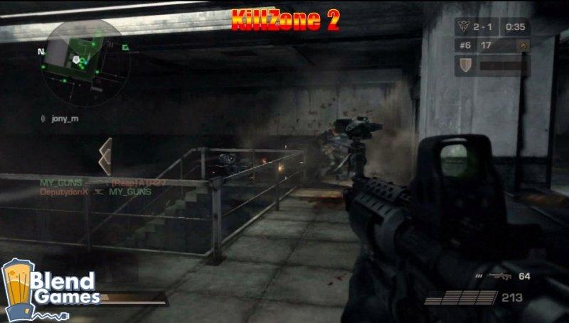 KillZone 2 Vs Crysis: Screenshot And Graphics Comparison #5192
