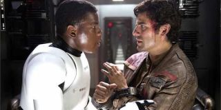 Poe and Finn at Starkiller Base