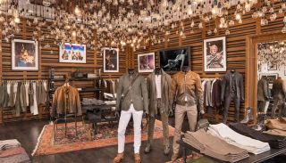 Ashly Powers New John Varvatos World Trade Center Store