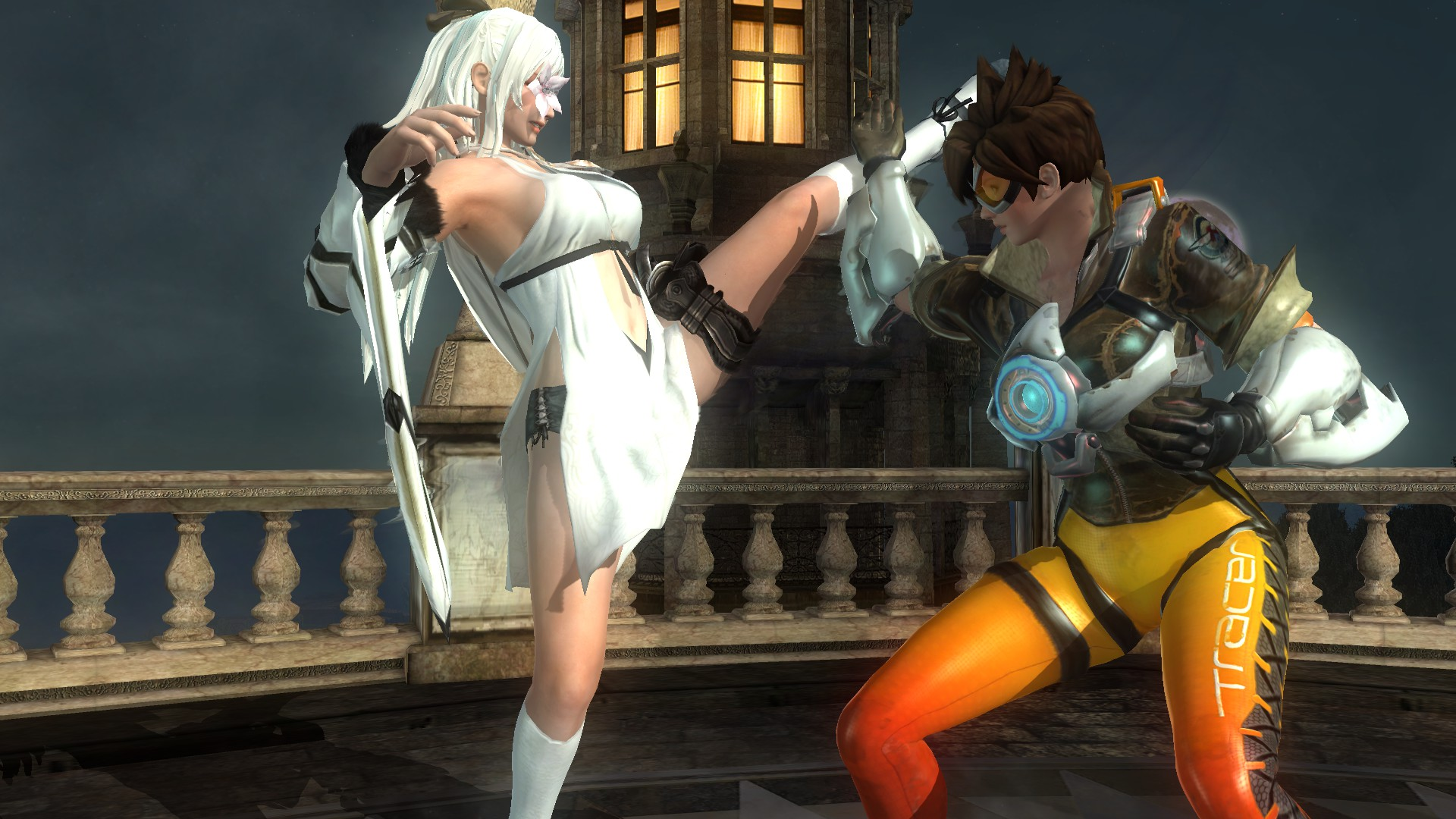 A Dead or Alive 5 mod pits the cast of Overwatch against JRPG characters.