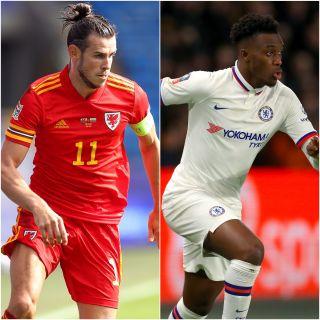 Gareth Bale and Callum Hudson-Odoi