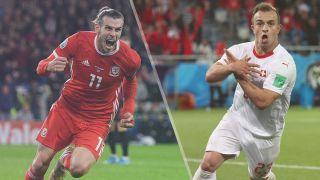 Wales vs Switzerland live stream — Gareth Bale and Xherdan Shaqiri