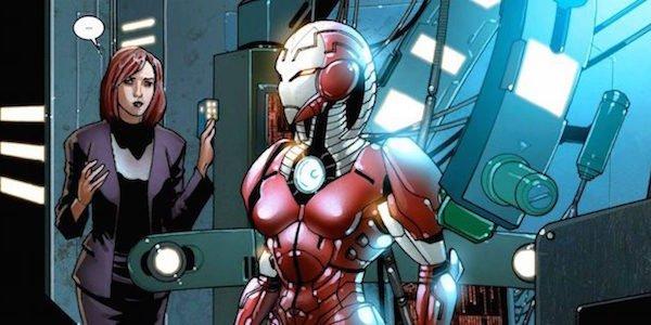 Rescue Armor Pepper Potts comics