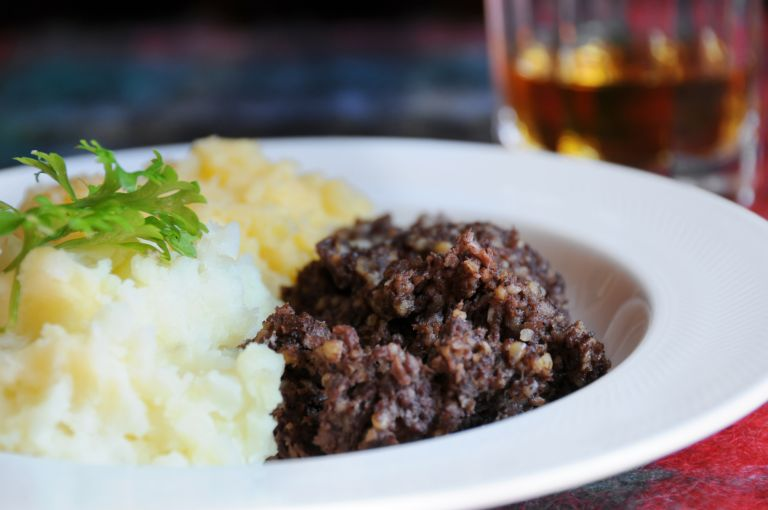 how to cook haggis