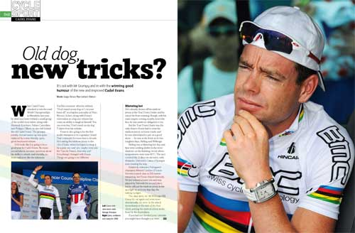 Evans, Cycle Sport May 2010 issue