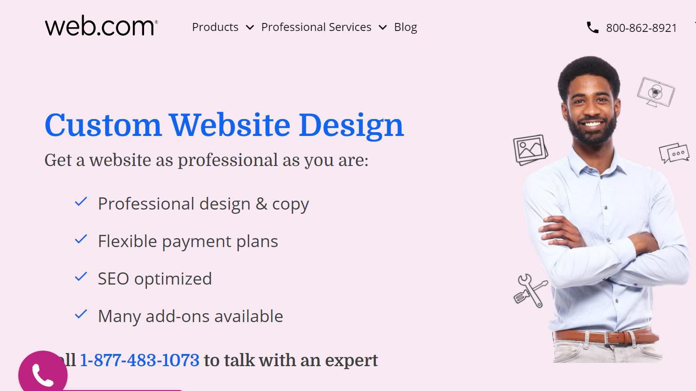 Web.com website services