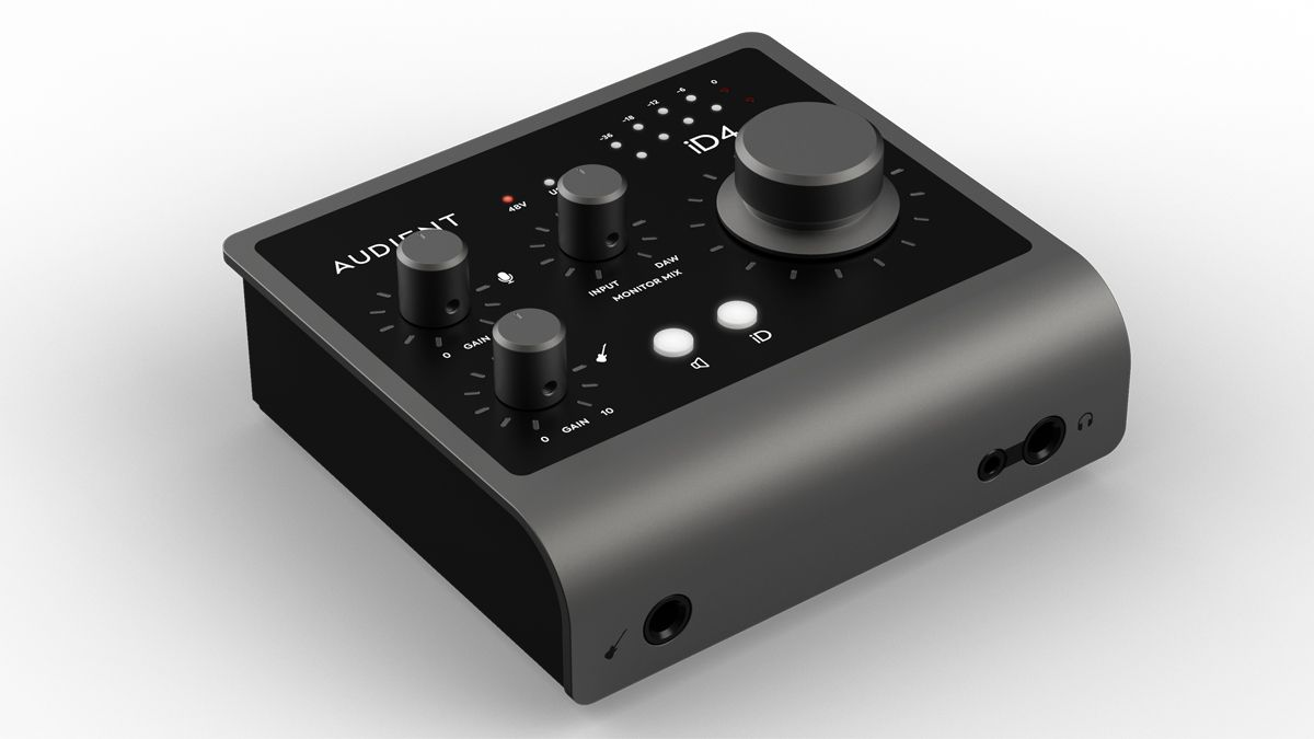 Audient's iD4 and iD14 MKII budget audio interfaces offer more features and  improved performance | MusicRadar