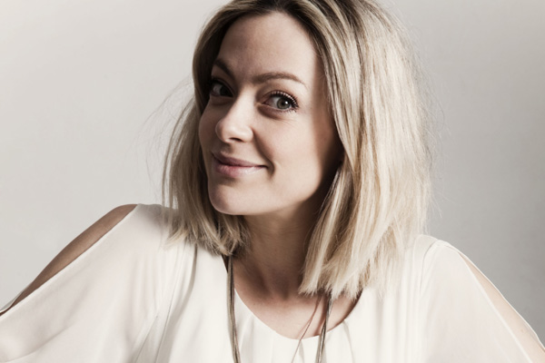 Cherry Healey gets touchy-feely