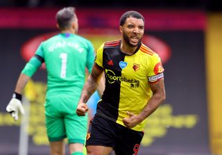 Troy Deeney beat Newcastle goalkeeper Martin Dubravka with two penalties to seal a Watford win on Saturday