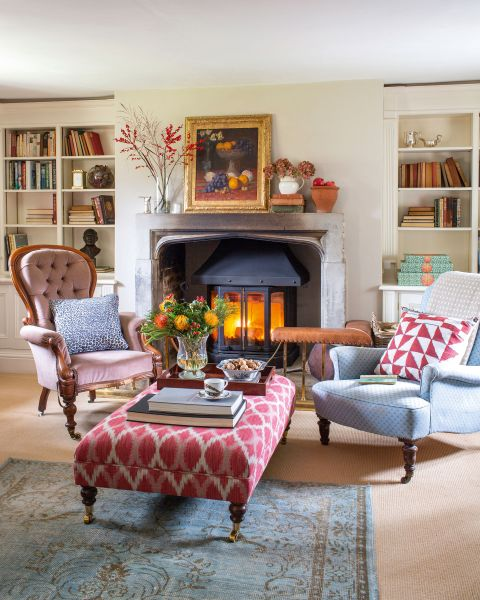 Cottage Ideas For A Living Room, Cottage Look Living Room