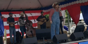 The Borat 2 Country Concert Had A Violent Ending That Wasn't Shown