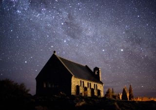 The New Zealand night sky.