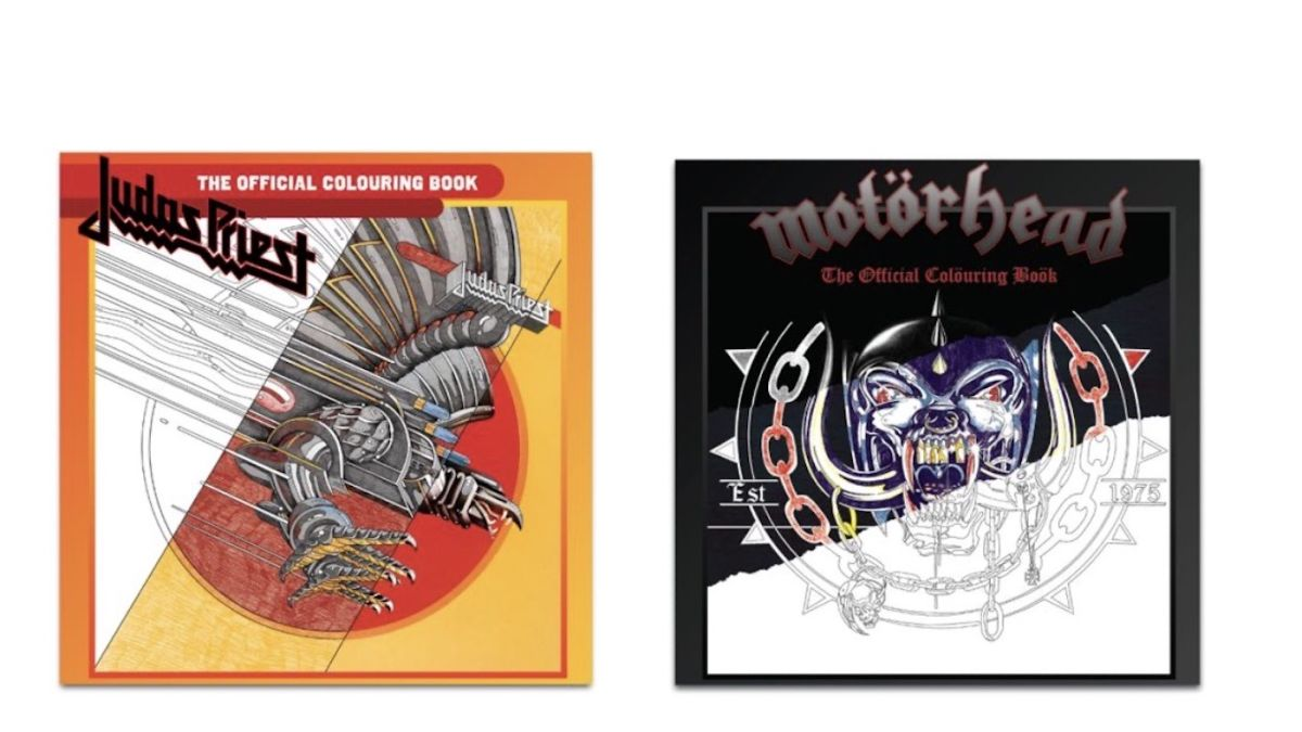 You can now get official Judas Priest and Motorhead colouring books 1
