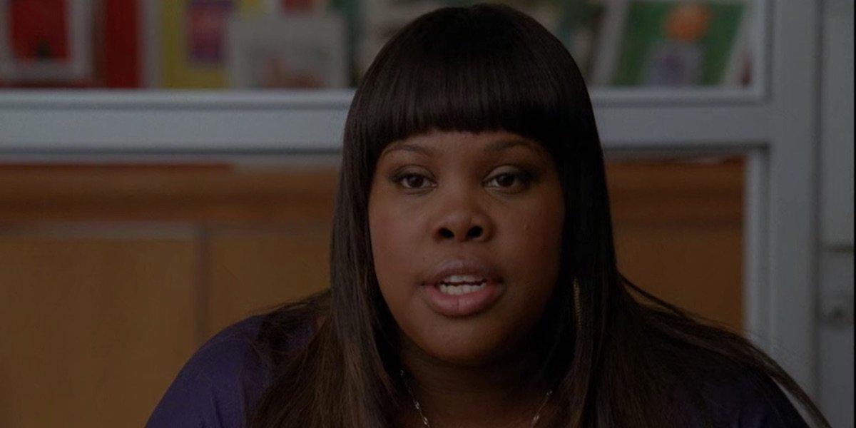 Amber Riley in Glee