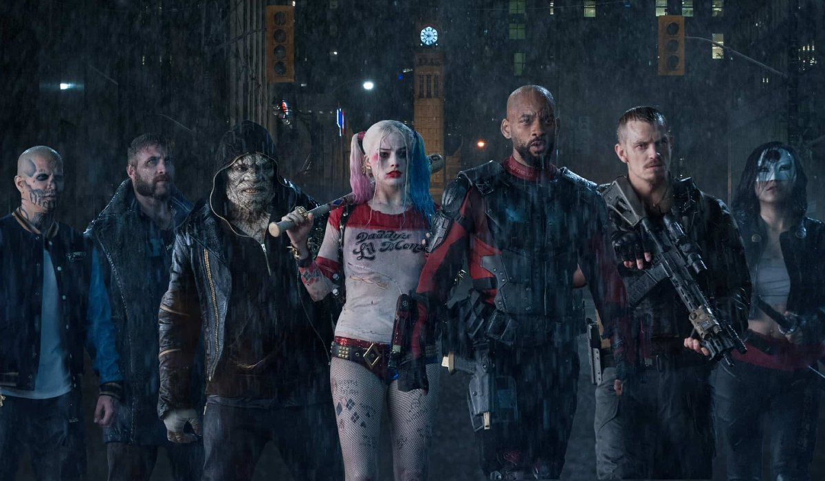 The team of David Ayer's Suicide Squad